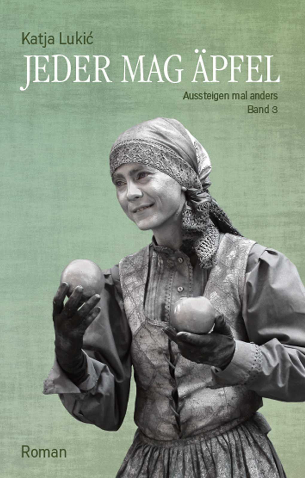 """Buchcover """"Jeder mag Äpfel"""" von Katja Lukic"""